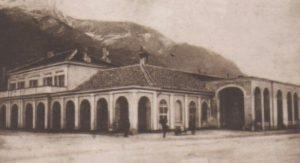 La stazione di Susa nel 1900