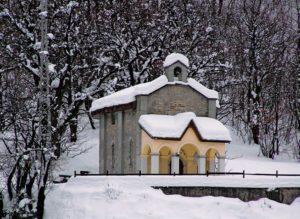 Cappella Madonna della Neve Novalesa Balaverda