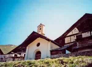 Cappella Madonna delle Nevi di Cesana Torinese Rhuilles