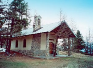 Cappella Madonna delle Nevi di Cesana Torinese Sagnalonga