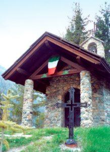 La cappella Madonna della Neve di Cesana Torinese