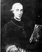 Mons. Giuseppe Francesco Maria Ferraris dei conti di Genola, primo Vescovo di Susa, dal 1778 al 1800.