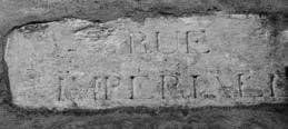 """Susa, """"Rue Imperiale"""". Epigrafe che indica la strada napoleonica,(collocata agli inizi dell'attuale Corso Francia)."""