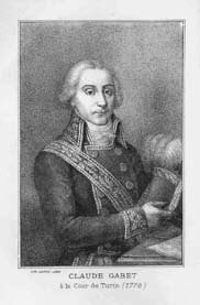 Claude Gabet, litografia Clappiè, Lyon .